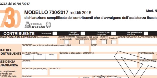 Modello 730 2017 per i redditi 2016 ecco le novit for Novita 730 2017
